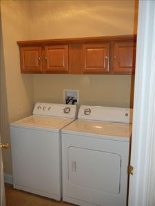 First floor washer & dryer
