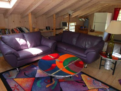 Chilmark studio rental - relax and enjoy area