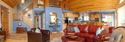 Prescott house rental - Great Room, Prescott Vacation Home, Prescott National Forest