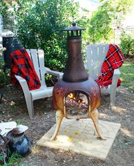 Annapolis cottage photo - Sip a cup of Joe or stargaze around the chiminea.