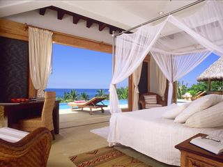 Punta del Burro house photo - Another Master Bedroom, All bedrooms have an ocean view and master style bath