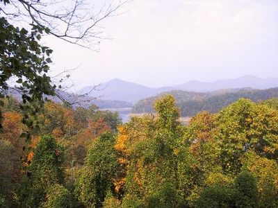 View of Nantahala National Forest