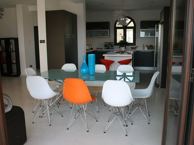 Limassol City villa rental - Dining Area