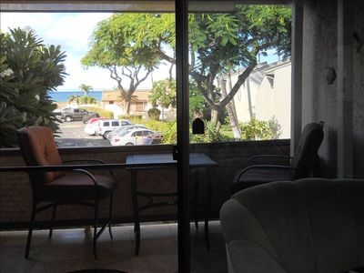Have coffee on the Lanai and watch the whales. (Dec. - May)