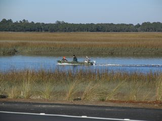 Kiawah Island house photo - fishing on the kiawah river (there is kayaking too!)