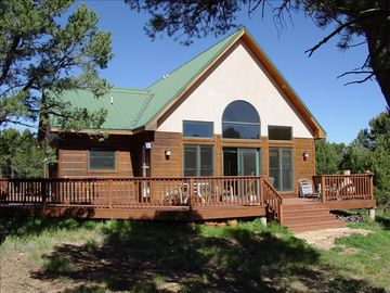 Ridgway house rental - House with wrap-around deck