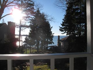 Boothbay Harbor cottage photo - Ocean View from Cottage