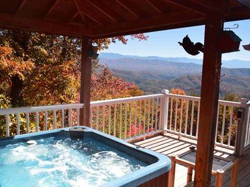 Enjoy the View from the Hot Tub.