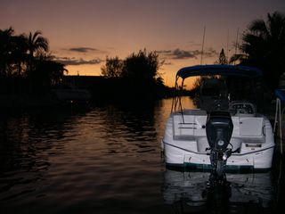 Islamorada house photo - Sunset in our canal