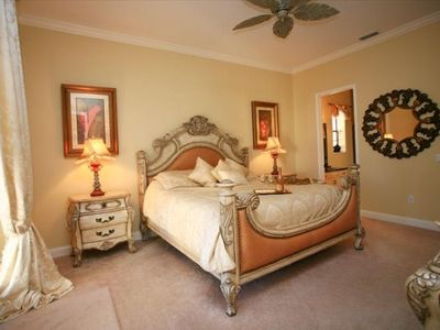 Master Italian Suite with Private Poolside Access