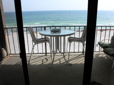 Private balcony w/ beautiful views and BBQ grill
