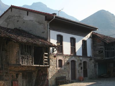 Beautiful riverside stone house in rural Asturias perfect for families