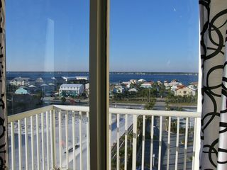 Navarre Beach condo photo - A priceless view from the second private balcony!