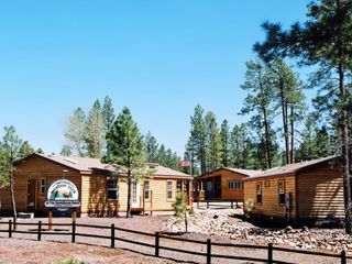 Pinetop cabin photo - Exterior of Units at the PVC at The Roundhouse Resort