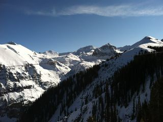 Dolores house photo - A view from the top of the slopes in Telluride.
