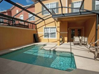 Paradise Palms townhome photo - Private and sunny south-facing pool