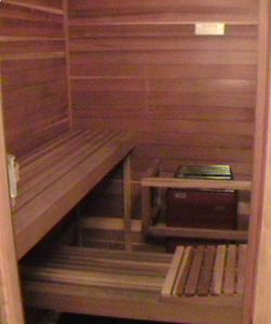 IT'S SAUNA TIME