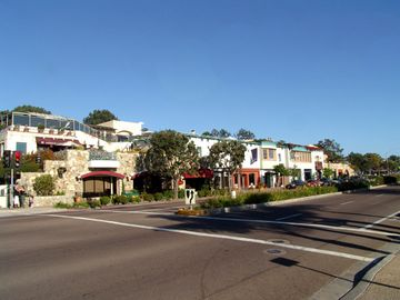 Downtown Del Mar, California