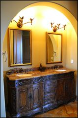 St. Tropez Destin villa photo - His & Her Vanity