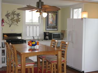 Provincetown townhome photo - and large side by side fridge.