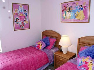 Highlands Reserve villa photo - Bedroom 5 (Disney Princess Theme)