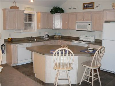 Large family kitchen equipped with everything you need