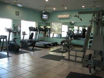 Fitness Center outside your door - Dive Shop