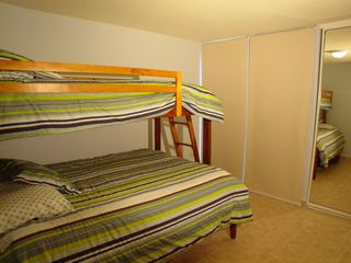 Cabo Rojo apartment photo - 3rd bedroom - twin/full bunk bed
