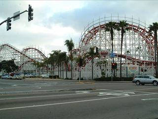 Pacific Beach condo photo - Belmont Park Roller Coaster