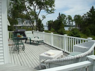 Cranberry Isles house photo - View from back deck
