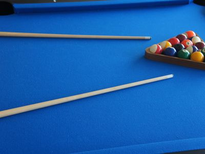 A game of pool in your private games room after a dip in your private pool?