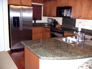 Ko Olina condo photo - Kitchen with Granite Couter Tops and Stainless Steel Appliances