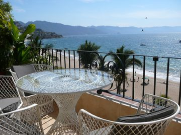 Puerto Vallarta condo rental - The view from the balcony