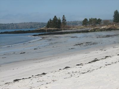 Pemaquid Beach is paradise ( short distance away by car or bike 3mi)