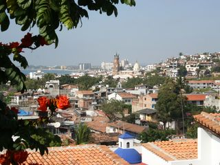 Puerto Vallarta condo photo - Cathedral View from Pool Deck