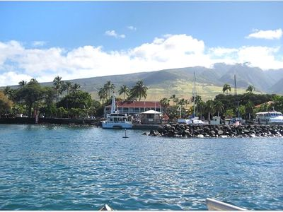 Entering Lahaina Harbor