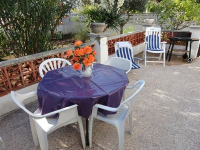 HOUSE ON ONE FLOOR A 600 METERS FROM THE BEACH, PRIVATE GARDEN, BARBECUE