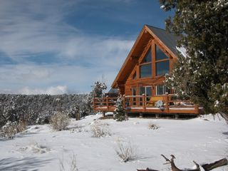 Unbelievable views and privacy, yet only 10 minutes away from town - Mesa Verde cabin vacation rental photo