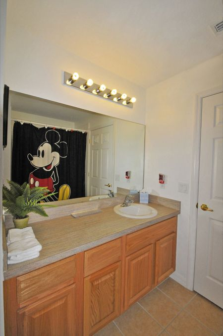 Third Full Bathroom - Mickey Mouse theme