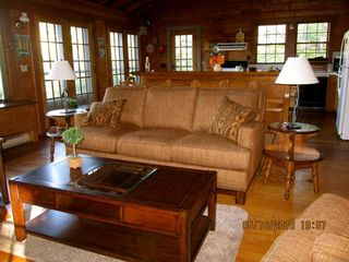 Sheepscot Village cottage photo - View from Living to Dining Area
