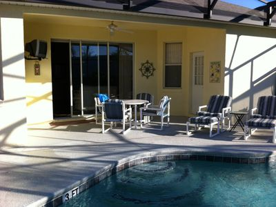 Pool Deck & Covered Lanai
