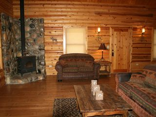 Farmington cabin photo - Fireplace