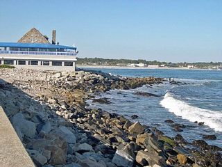 Narragansett Pier house photo - Coast Guard House just 1/2 mile away