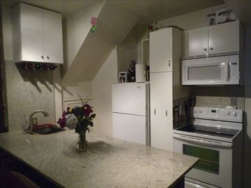Complete secondary kitchen in basement