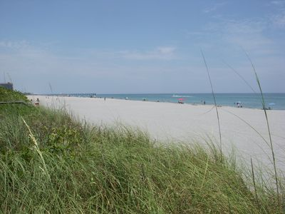 Juno Beach looking North toward the fishing pier