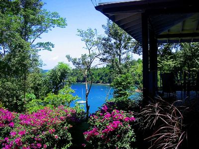 image for COASTING - 5 acres of waterfront; romantic villa, with pool; beside beach.