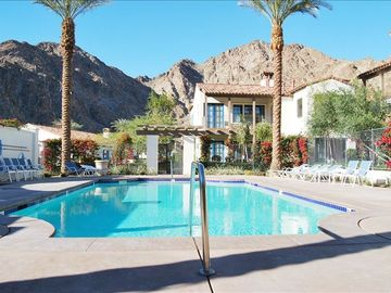 La Quinta villa rental - This pool and spa are just steps from your private patio.