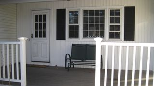 East Greenwich house photo - Front porch ...relax after a day on the town or beach