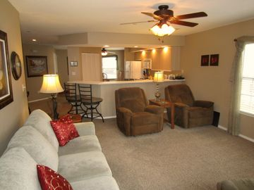 Branson condo rental - Imagine staying in a nightly condo rental instead of a Branson hotel.