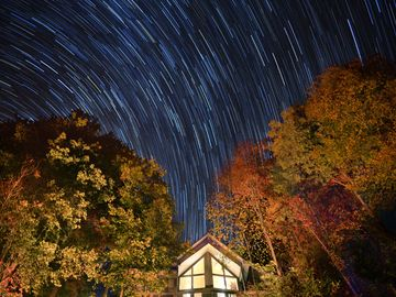 Lake Nantahala house rental - Peaceful serenity awaits you and stars, stars and more stars!!